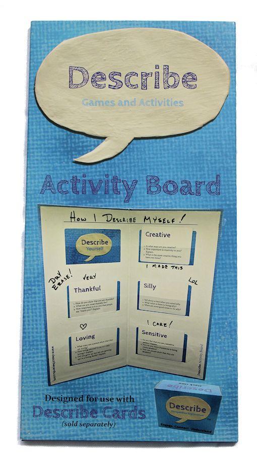 Describe - Activity Board Front